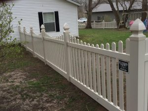 SAND SCALLOP PICKET FENCE
